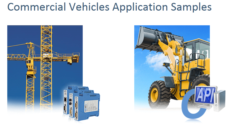 Commercial Vehicle Application Examples - Commercial Vehicles