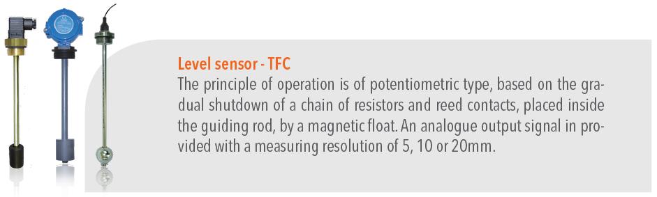 Level sensor TFC - Water Treatment
